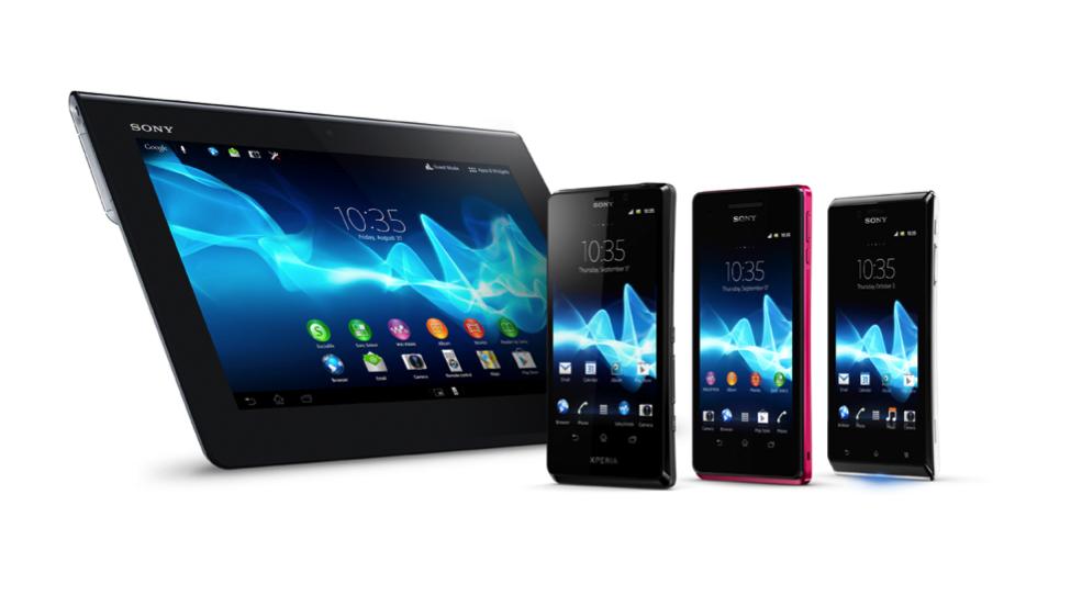 Xperia T, J, V og Tablet S