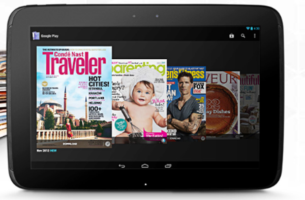 nexus 10 e-magasin