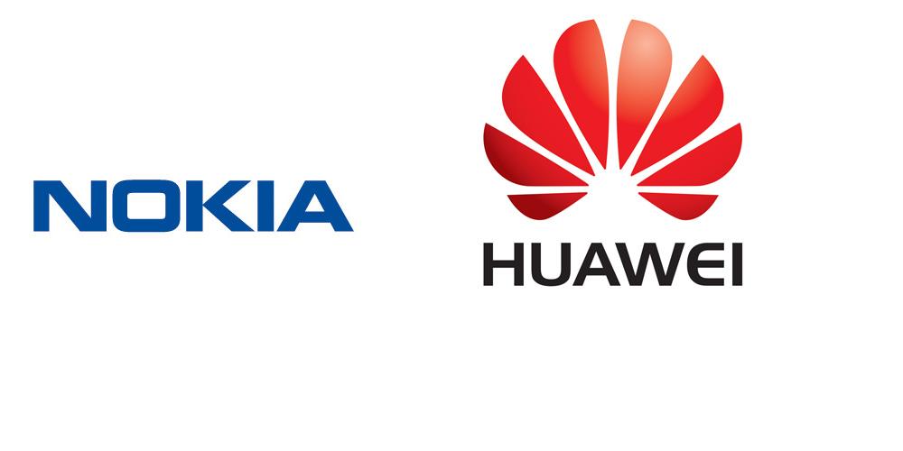 nokia huawei logo