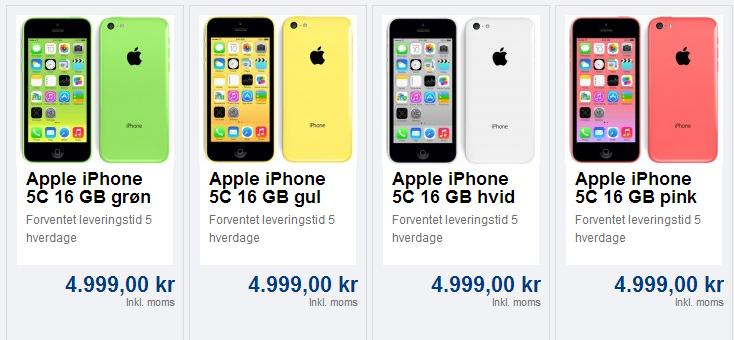 iphone 5s pris tele2