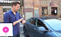 tesla android wear