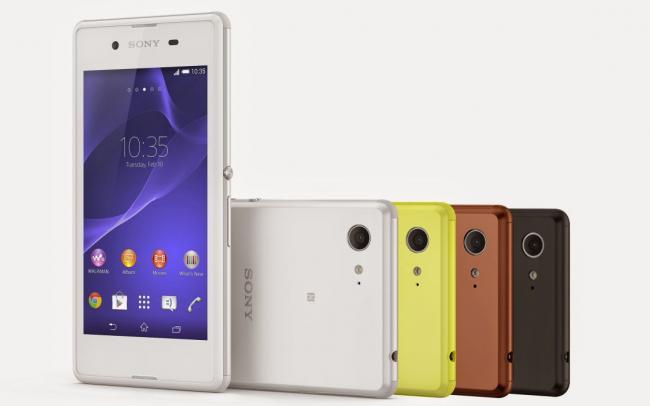 billig mobil sony xperia e3