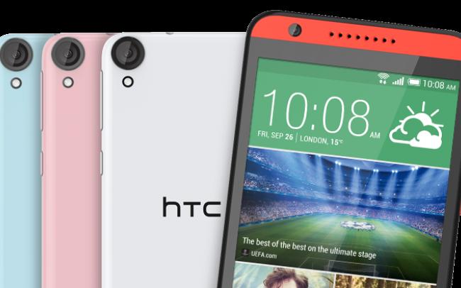 HTC mobiler Android 5.0 Lollipop