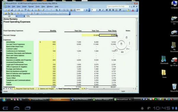 Pocketcloud Remote Desktop test