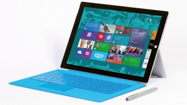 de bedste tablets Microsoft Surface Pro 3