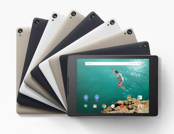 de bedste tablets - nexus 9