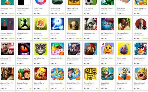 spil til android 2014