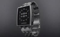 pebble smartwatch steel