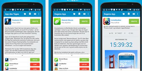 dagens app 100 procent gratis