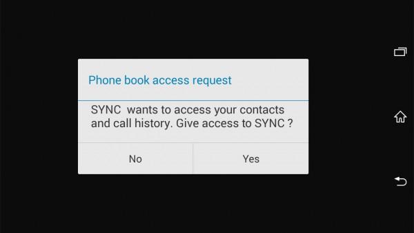 ford Sync2 mobil