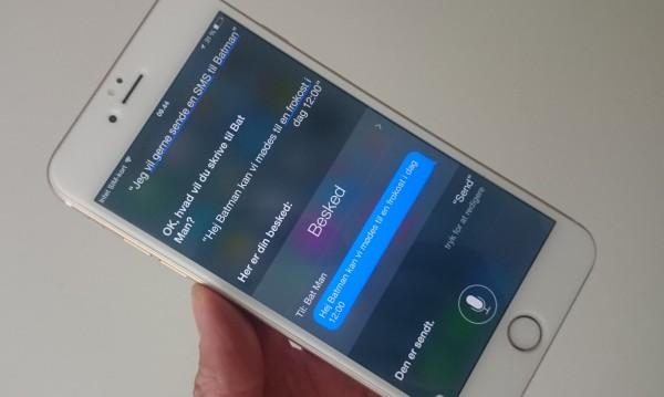 siri send sms