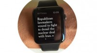 new york times apple watch