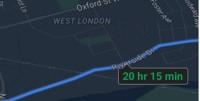 google-maps-ios-natfunktion