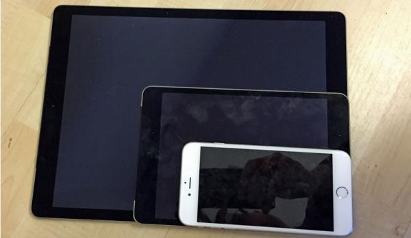 iphone 6, ipad mini, ipad pro