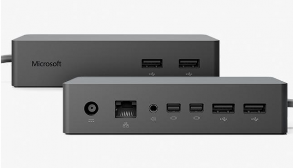 microsoft surface dock test pris