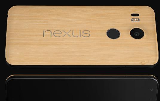 nexus 5x bamboo cover