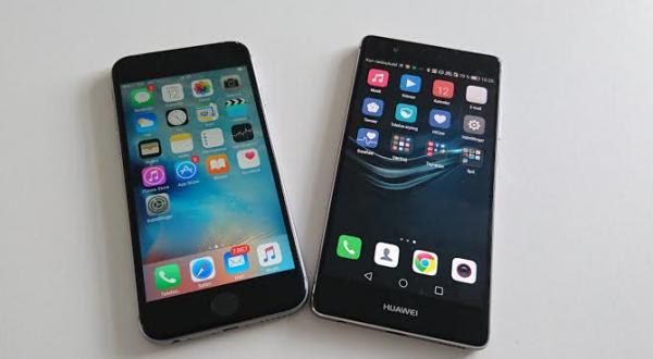 Iphone 6 vs p9