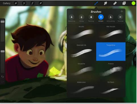 procreate ipad pro bedste tegne app til ipad pro pencil