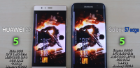 huawei p9 vs galaxy s7 edge