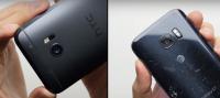 Hvilken mobil er mest robust Galaxy S7 eller HTC 10
