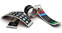mobiltelefoner med bøjelige skærme