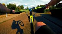 find vej med krak på cyklen