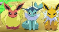 Eevee til Flareon, Vaporeon eller Jolteon i Pokemon GO