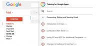 training for google apps