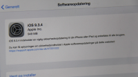 ios 9.3.4 opdatering sikkerhedsopdatering