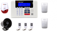 PiSector Wireless Security Alarm System
