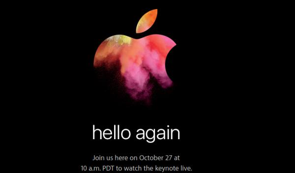 apple mac event 2016