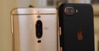 Bokeh dual kamera iPhone 7 Plus vs Huawei Mate 9 Pro