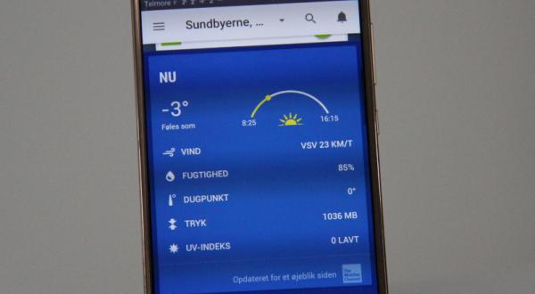 bedste vejr app the weather channel