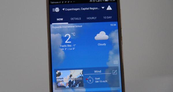 bedste vejr app weatherbug