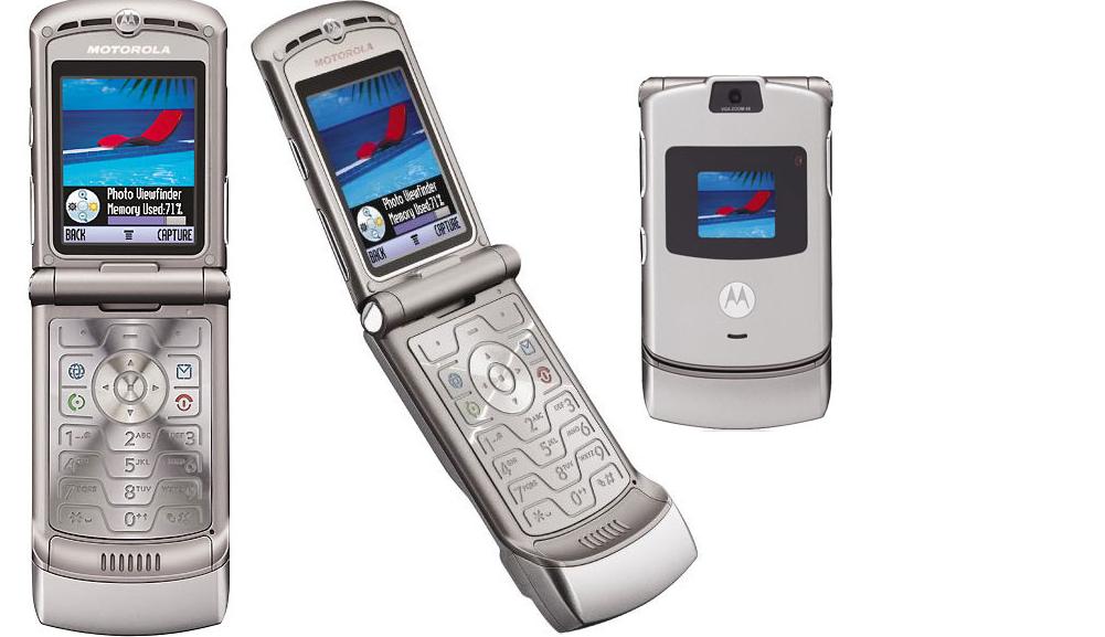 VR Razr blev en kæmpe succes hvilket fik Motorola til at satse alt på videreførelse af klap-telefon designet.