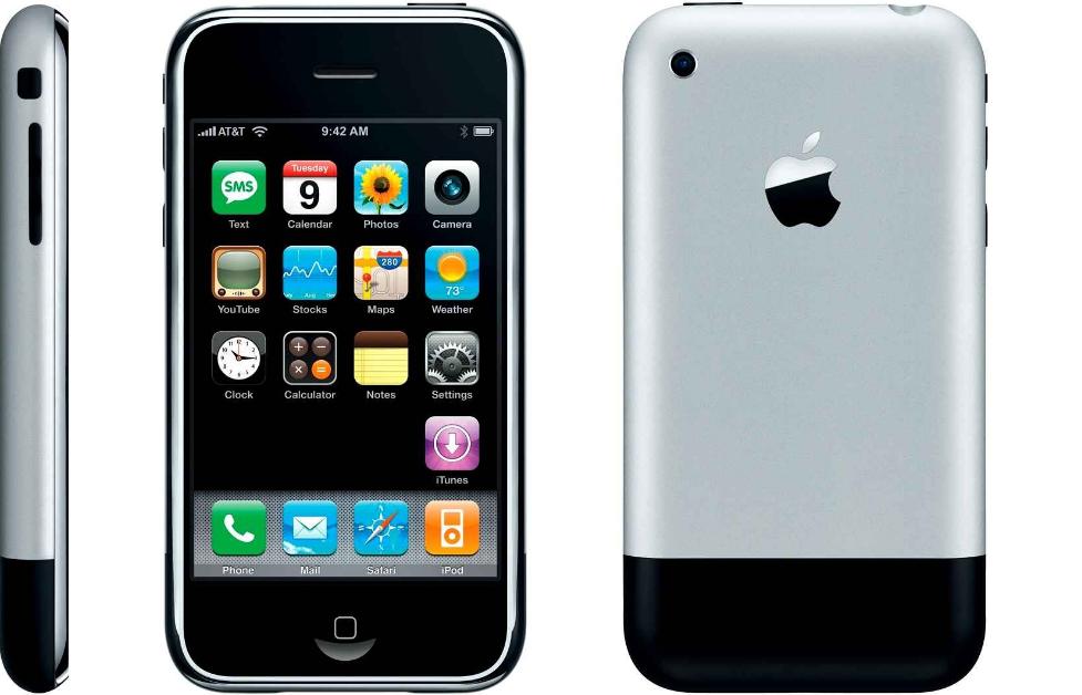 Den første iPhone havde relativt dårlige specifikationer, men enkelheden, designet og brugervenligheden var nyskabende… Verdens første Smartphone så dagens lys i 2007.