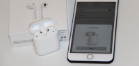 test apple airpods pris
